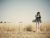 girl_on_a_field