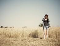 girl_on_a_field